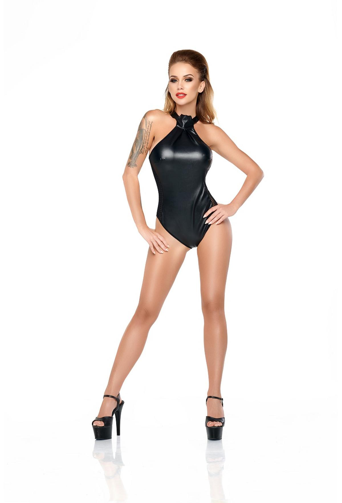 MS Judy body black | Wetlook/Latex/Leder | Dessous Shop